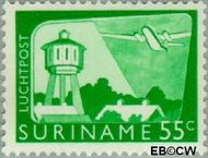 Suriname SU LP44  1965 Landschappen 55 cent  Gestempeld