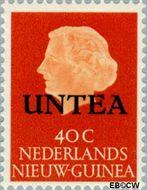 West-Nieuw-Guinea NG WNG8  1962 UNTEA opdruk 40 cent  Gestempeld
