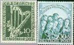 Berlin ber 72#73  1950 Berliner Philharmonie  Postfris