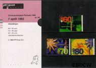Nederland NL M94  1992 Floriade  cent  Postfris