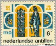 Nederlandse Antillen NA 372  1966 Middelbaar Onderwijs 6 cent  Gestempeld