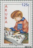 Aruba AR 354  2005 Kinderzegels 125 cent  Gestempeld