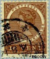 Suriname SU 50  1904 Medaillon 15 cent  Gestempeld