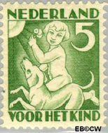 Nederland NL 233  1930 Jaargetijden 5+3 cent  Gestempeld
