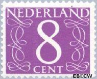 Nederland NL 775  1962 Cijfer- Proef fluorescentie 8 cent  Gestempeld