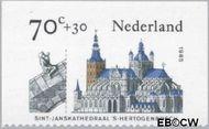 Nederland NL 1328c  1985 Kerken 70+30 cent  Gestempeld