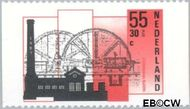 Nederland NL 1375a  1987 Industriële Monumenten 55+30 cent  Gestempeld