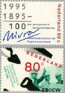 Nederland NL 1637#1638  1995 Jubilea  cent  Gestempeld