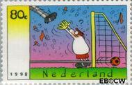 Nederland NL 1763  1998 F.C. Knudde 80 cent  Gestempeld