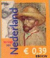 Nederland NL 2139  2003 Vincent van Gogh 39 cent  Gestempeld