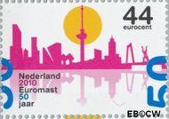 Nederland NL 2711  2010 Euromast  cent  Gestempeld