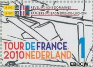 Nederland NL 2722  2010 Tour de France 1 cent  Gestempeld