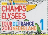 Nederland NL 2728  2010 Tour de France 1 cent  Gestempeld