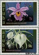 Aruba AR 300#301  2003 Orchideeën  cent  Gestempeld