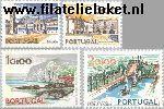 POR 1189#1192 Postfris 1972 Steden en landschappen