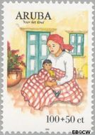 Aruba AR 239  1999 Kinderzegels 100+50 cent  Gestempeld