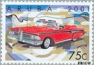 Aruba AR 269  2001 Klassieke auto's 75 cent  Gestempeld