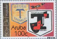 Aruba AR 299  2003 De Trupialen 100 cent  Gestempeld