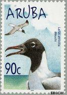 Aruba AR 319  2004 Watervogels 90 cent  Gestempeld