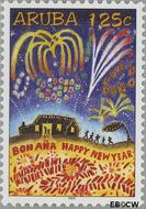 Aruba AR 329  2004 Decemberzegels 125 cent  Gestempeld