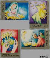 Aruba AR 431#434  2009 Kerstverhaal  cent  Postfris