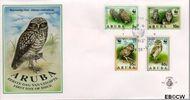 Aruba AR E49  1994 Wereld Natuur Fonds  cent  FDC zonder adres