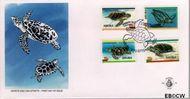Aruba AR E59  1995 Schildpadden  cent  FDC zonder adres