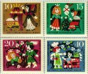 Berlin ber 237#240  1964 Sprookjes Gebr. Grimm  Postfris