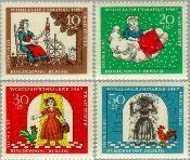 Berlin ber 310#313  1967 Sprookjes Gebr. Grimm  Postfris