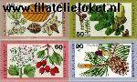 Bundesrepublik BRD 1024#1027  1979 Bosvruchten  Postfris