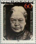 Bundesrepublik BRD 1057#  1980 Ebner- Eschenbach, Marie von  Postfris