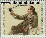 Bundesrepublik BRD 1121#  1982 Goethe, J.W. von  Postfris
