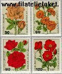 Bundesrepublik BRD 1150#1153  1982 Rozen  Postfris