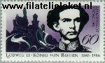 Bundesrepublik BRD 1281#  1986 Koning Ludwig II  Postfris