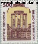 Bundesrepublik BRD 1679#  1993 Bezienswaardigheden  Postfris