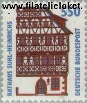 Bundesrepublik BRD 1746#  1994 Bezienswaardigheden  Postfris