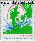 Bundesrepublik BRD 1802#  1995 Noord- Oostzee-kanaal  Postfris