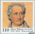 Bundesrepublik BRD 2073#  1999 Goethe, Johann Wolfgang  Postfris