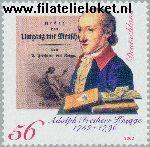 Bundesrepublik BRD 2241#  2002 Knigge, Adolph Freiherr von  Postfris