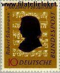 Bundesrepublik BRD 234#  1956 Schumann, Robert  Postfris