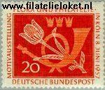 Bundesrepublik BRD 254#  1957 Postzegeltentoonstelling Kõln  Postfris
