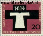 Bundesrepublik BRD 313#  1959 Heilig gewaad Trier  Postfris