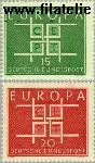 Bundesrepublik BRD 406#407  1963 C.E.P.T.- Vierkanten  Postfris