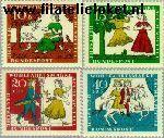 Bundesrepublik BRD 485#488  1965 Sprookjes Grimm  Postfris