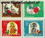 Bundesrepublik BRD 538#541  1967 Sprookjes Grimm  Postfris