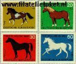 Bundesrepublik BRD 578#581  1969 Paarden  Postfris