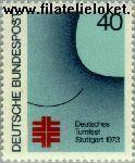 Bundesrepublik BRD 763#  1973 Duits turnfeest  Postfris