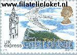 Gibraltar gib 1054#1057  2003 Paddestoelen  Postfris