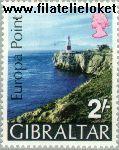Gibraltar gib 236#  1970 Punt van Europa  Postfris