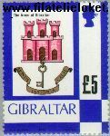 Gibraltar gib 391#  1979 Wapen van Gibraltar  Postfris
